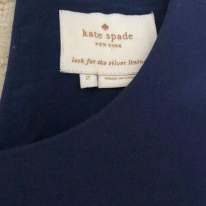 Kate spade size 2 GORGEOUS dark navy dress